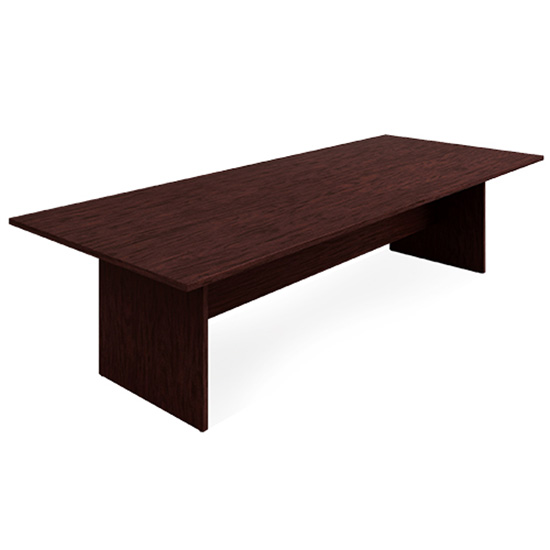 10′ Conference Table - Mahogany