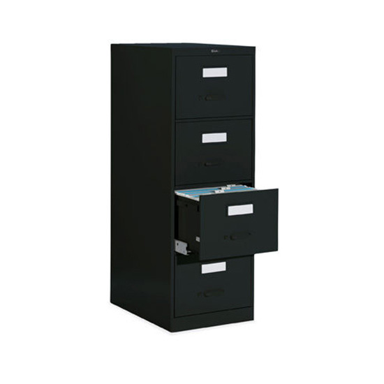 4 Drawer Black Vertical File (Legal)